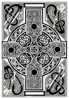 celtic-cross-tapestry-morgan-fitzsimons.jpg 493×700 pixels