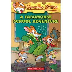 Entra en el mundo de Geronimo Stilton, donde otra divertida aventura es siempre a la vuelta de la esquina. Cada libro es una aventura de ritmo rápido con el arte vivo y un formato único a los chicos de 7-10 les encantará.