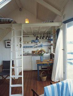 Loft Cabin by I heart Norwegian Wood, via Flickr