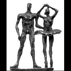Parejade bailarines- A. Pujía