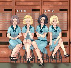 Las chicas del Cable Netflix Series, Series Movies, Tv Series, Fanart, Sherlock Holmes Benedict Cumberbatch, Nerd Problems, Orphan Black, Orange Is The New Black, Girls Show