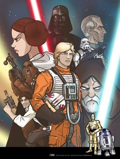 """starwars: """"The mythic essence of each of Star Wars- A New Hope's characters is…"""