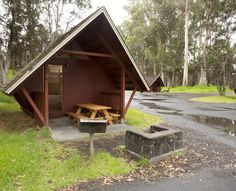 Namakanipaio Cabins - Volcano House, campground by Volcanos National Park
