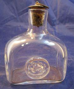 Other Collectible Modern Bottles Vintage Bottles, Bottles And Jars, Vintage Antiques, Vintage Items, Wine Decanter, Whiskey Bottle, Cork, Barware, Metal