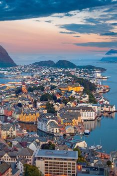 Alesund, Norway, Summer Travel Beautiful city of Alesund, Norway. Summer travel in Northern Europe. Alesund, Top Travel Destinations, Places To Travel, Places To Visit, Travel Diys, Travel Outfits, Travel Essentials, Budget Travel, Cruise Europe