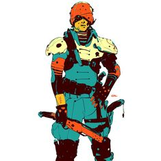 """""""Last of the DeadStar pilots"""" Character Creation, Character Concept, Character Art, Character Design, Black Cartoon Characters, Face Characters, Relic Hunter, And So It Begins, Robot Concept Art"""