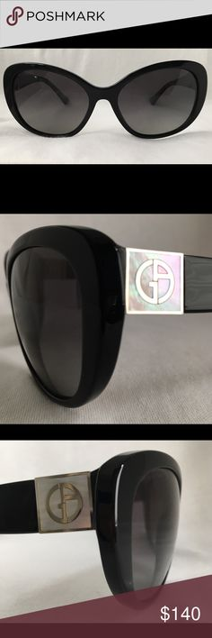 1f64532b90 Giorgio Armani Polarized AR8030 sz 58 clr 5017 T3 Giorgio Armani Polarized  AR8030 size 58 color 5017 T3 Black. Grey Gradient Polarized 3P Lenses.
