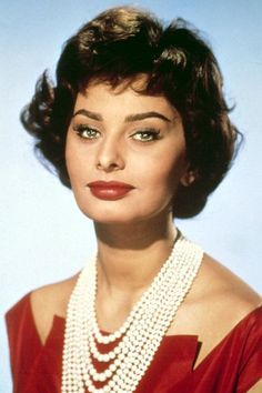 24 Actresses From The Golden Age Of Hollywood #refinery29  http://www.refinery29.com/old-hollywood-actresses#slide-35  Sophia Loren (September 24, 1934)The Italian beauty was already a star in Italy before she broke out internationally with films like Houseboat (1958, opposite Cary Grant), and Two Women (1960), the devastating film about a mother and daughter who are gang-raped by soldiers during WWII, which won her an Oscar.