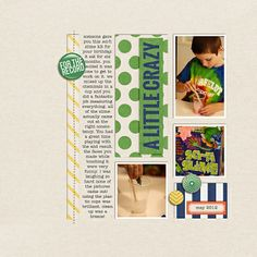 Celeste Smith a little crazy - Calvinball - Gallery - Get It Scrapped Scrapbooking Layouts, Scrapbook Pages, Boy Quotes, Craft Corner, Layout Inspiration, Inspire Me, Crafts To Make, Title Ideas, How To Get