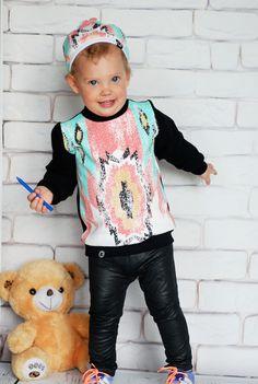 Aztecka bluza dziecięca Kokilok-kids #kids #dzieci #child #kidsfashion #kidzfashion #fashionkids #moda #modadziecięca #cute #cutest_kids #cute #baby #babiesfashion #stylishchild #kokilok