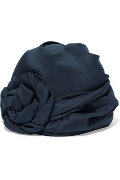 Navy silk 100% silk; lining: 100% wool Dry clean Made in Italy
