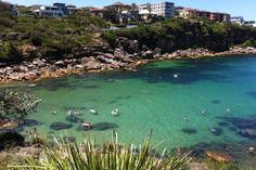 Sydney- Gordon's Bay, snorkling, boats, floats!- Free to visit, rentable stuff. Visit Out of the Blue Burgers for lunch.
