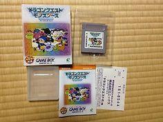 Dragon Quest Monsters Game Boy Japan Nintendo boxed set Enix