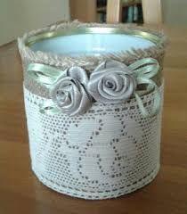 Resultado de imagem para pinterest latas decoradas