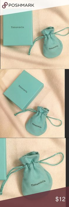 New Tiffany & Co. gift box and Pouch New Tiffany jewelry gift box and Pouch. Tiffany & Co. Accessories