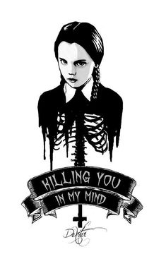 Image result for wednesday addams embroidery face