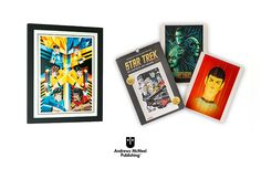 To celebrate the iconic sci-fi franchise's 50th anniversary, Andrews McMeel Publishing has released the Star Trek 50 Artists. 50 years. 2017 Poster Calendar.  #startrek #startrek50