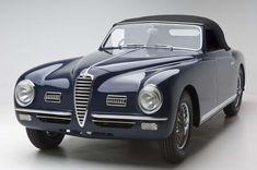 1949 Alfa Romeo 6C 2500SS SWB 2 Seat Pininfarina Cabriolet