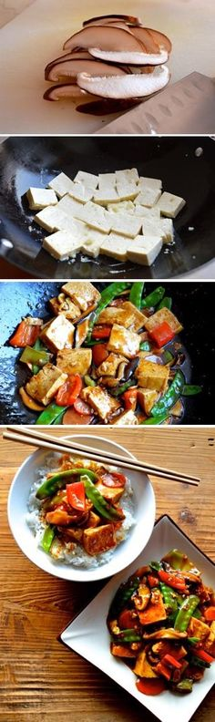 Quick and Easy Braised Tofu