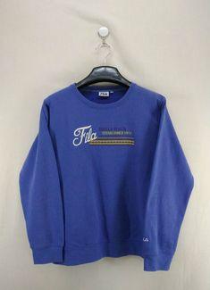 Vintage Fila Biella Italia Sweater Sweatshirt by KasemVintageHouse