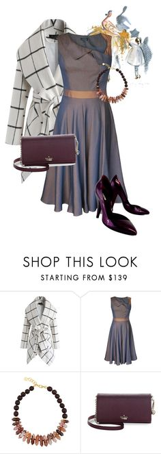 """""""Welcome 戌年(the year of the Dog)"""" by masayuki4499 ❤ liked on Polyvore featuring Chicwish, Nest, Kate Spade and Miu Miu"""