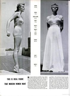 """The """"ideal"""" body type has long been a topic of fascination"""
