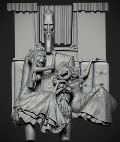 Daniorrr's sketchbook! Such an amazing sculpt! Needs to be rendered with textures and lighting