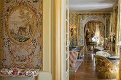 Ornate splendor at La Villa Gallici in Aix-en-Provence.