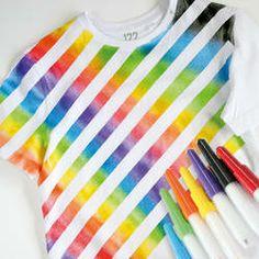 GONIS Regenbogen-T-Shirt mit Blow-Pens! cool!