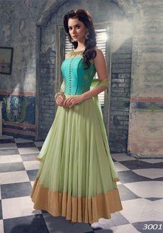 Designer Anarkali Suits by Designer Anarkali, Designer Gowns, Long Anarkali, Anarkali Dress, Anarkali Suits, Lehenga Choli, Punjabi Suits, Kids Lehenga, Sari Dress