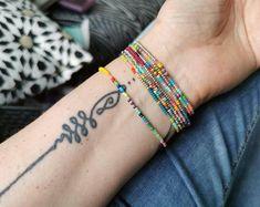 Suusjabeads Handmade beaded bracelets and earrings by Suusjabeads Bohemian Bracelets, Colorful Bracelets, Bohemian Jewelry, Handmade Bracelets, Etsy Jewelry, Jewelry Shop, Jewelry Stores, Seed Bead Bracelets, Bracelet Set