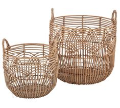 Style your space with these rattan baskets that not only look good, but provide that extra desired storage. Rattan Basket, Baskets, Welcome To My House, Your Space, Storage, Purse Storage, Hampers, Basket, Warehouse