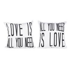 Love is All Pillow Cover Set