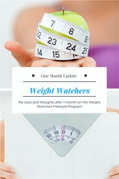 Weight Watchers One Month Update  #weightloss #weightwatchers #howtoloseweight