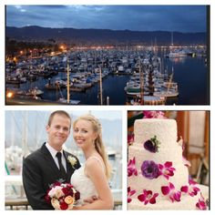 #SantaBarbara #Harbor #MaritimeMuseum #Wedding Cake by Your Cake Baker | Photo Credit ALA Photography
