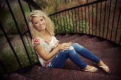 Stairs - Senior Girl