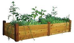 Building a raised flower bed, compliments of Bob Vila