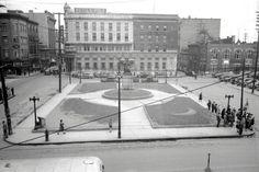 La place Jacques-Cartier en 1943