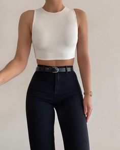 Fashion Inspiration And Trend Outfits For Casual Look- Fashion Inspiration And Trend Outfits For Casual Look - Girly Outfits, Cute Casual Outfits, Stylish Outfits, Summer Outfits, Hijab Casual, Ootd Hijab, Hijab Dress, Stylish Clothes, Casual Clothes