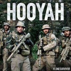 Lone Survivor. Such a good movie. Every girl loves a Navy Seal, or a man that can pull off playing one
