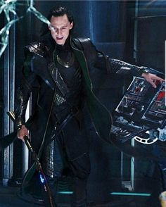 He looks so proud but more likely than not he's still under the influence of the tesseract