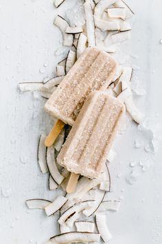 Coconut Amaretto Popsicles