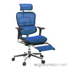 Ergonomic Chair With Leg Rest White Dining Room 17 Best Office Chairs Legrest Images Recliner Ergohuman Mesh