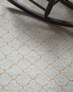 Tin Tile Hooked Wool Rug by Dash & Albert
