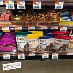 #SPOTTED: #barkTHINS in #WholeFoods in Paramus, NJ! @Whole Foods Market #snackingchocolate #seriouslygood #nongmo #fairtradeusa #pretzel #almond #mint #peanut #chocolate