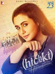 Hichki (2018) Hindi Movie DVDScr 1GB & 350MB Audio Clean