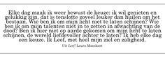 De mooiste quotes uit gelezen boeken | WWW.MYRTHEI.NL