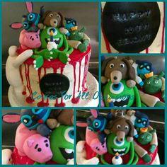 Disney mass up cake