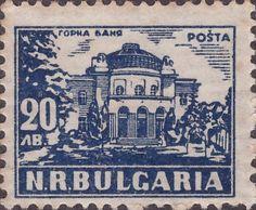 Znaczek: Gorna Bania (Mineral Bath) (Bułgaria) (Definitives: Baths) Mi:BG 686,Sn:BG 633,Yt:BG 593