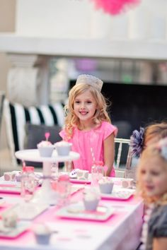 Modern Princess Birthday Party